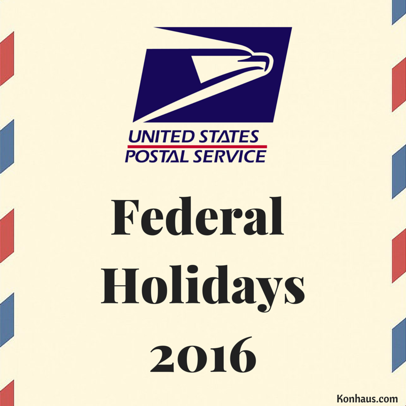 What to Expect with Delivery Times and Remaining Federal Holidays ...